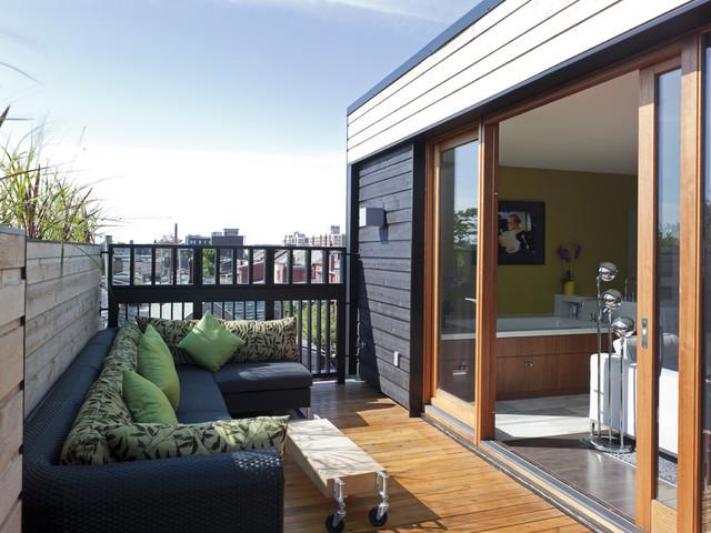 Third Floor Master Bedroom And Bathroom Addition Modern