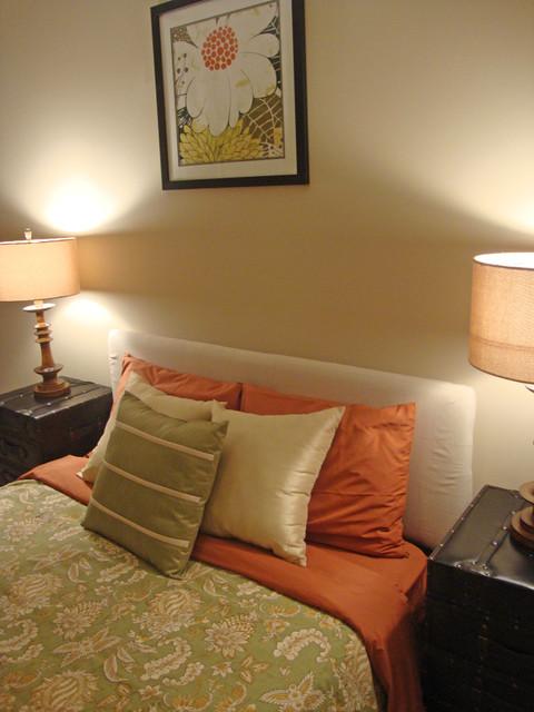 Thompson eclectic-bedroom