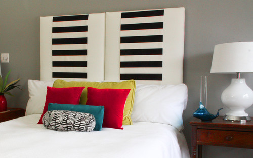 Three in One Upholstered Hanging Headboard