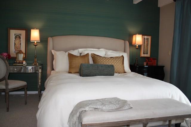 Laguna Beach Master Bedroom eclectic-bedroom