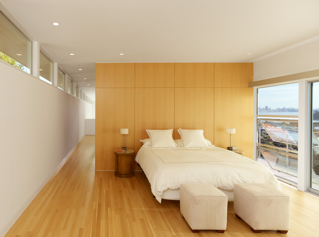 Tiburon Residence contemporary bedroom