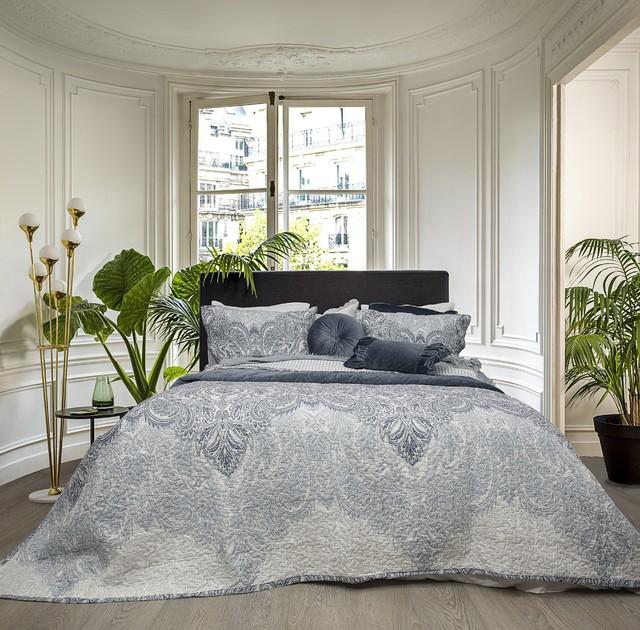 Tiffany Blue 100% Cotton Coverlet Bedspread Set - Bedroom ...