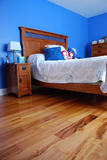 Tigerwood Engineered Hardwood Floor Traditional