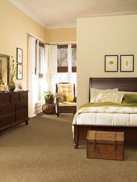 Traditional Bedroom Carpet : Tigressa carpet