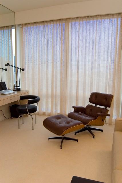 Time Warner Duplex contemporary-bedroom