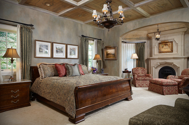 Timeless Tudor Estate Traditional Bedroom