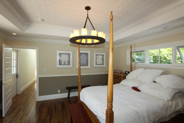 Tin Ceiling Tiles - Traditional - Bedroom - San Francisco ...