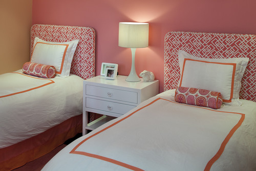 contemporary bedroom Color of the Month: Decorating with Orange