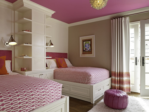 pink ceiling-Mission Stone Tile