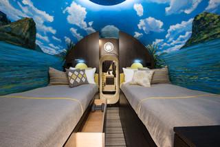Tiny Bedroom Stylish Underground Shelter Under Bed Storage Modern Bedroom Other By