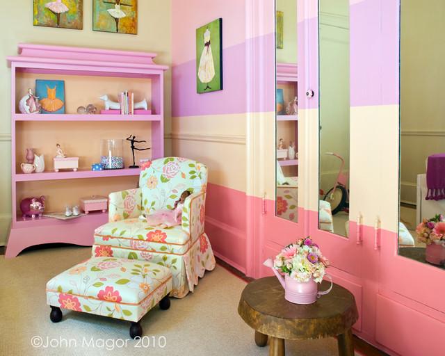 Tiny Dancer's Bedroom eclectic-bedroom