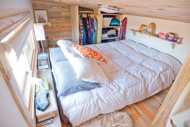 Tiny House Loft Bedroom Contemporary Bedroom San Francisco