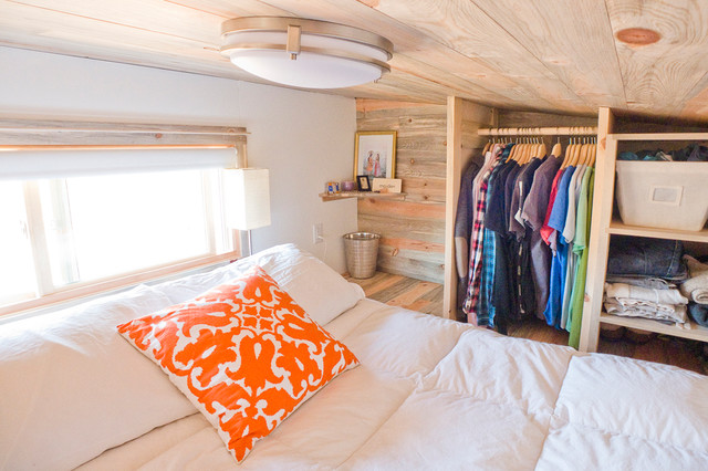 Tiny House Loft Queen Bed