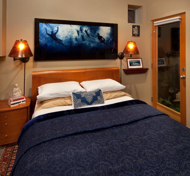 Tiny house tiny bedroom by kimball starr interior design for Tiny house bedroom