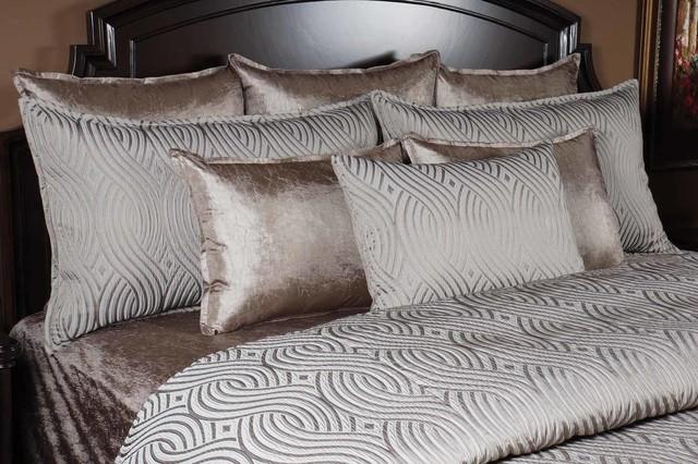 Titanium Duvet Set - Contemporary - Bedroom - Salt Lake City - by K&R Interiors