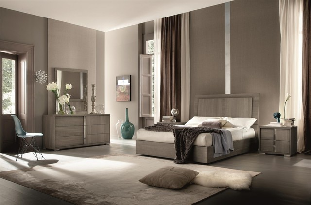 Bedroom Sets El Dorado tivo bedroom - made in italy - contemporary - bedroom - miami -