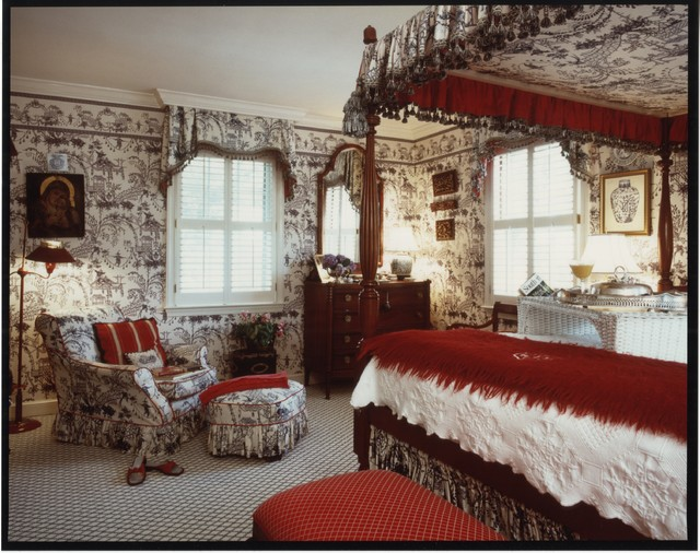 Bedroom Decorating Ideas Totally Toile: Toile Bedroom