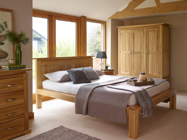 Tokyo Solid Oak Bedroom - Modern - Bedroom - Wiltshire - by Oak ...