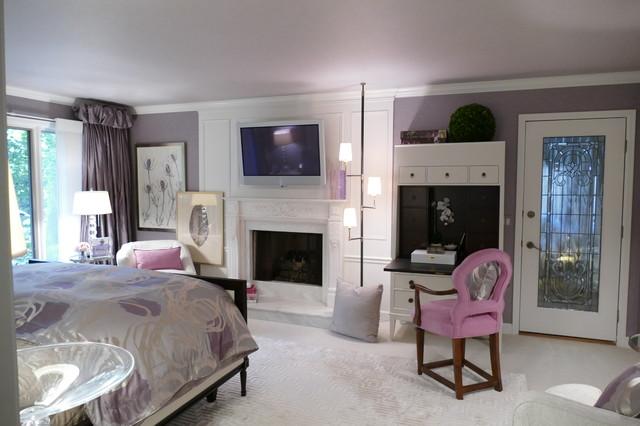 Toledo Ohio Master Bedroom Transitional