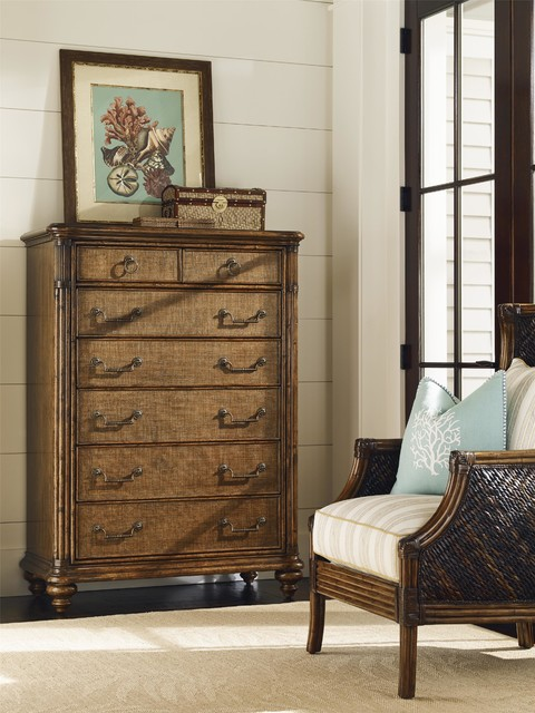 tommy bahama home bali hai tobago drawer chest tropical