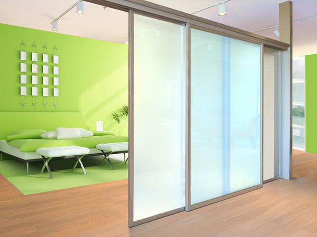 Top Hung Room Divider Contemporary Bedroom Los