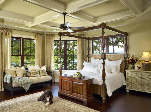 Top Ridge Master Bedroom Traditional Bedroom Atlanta By LS3P Neal P