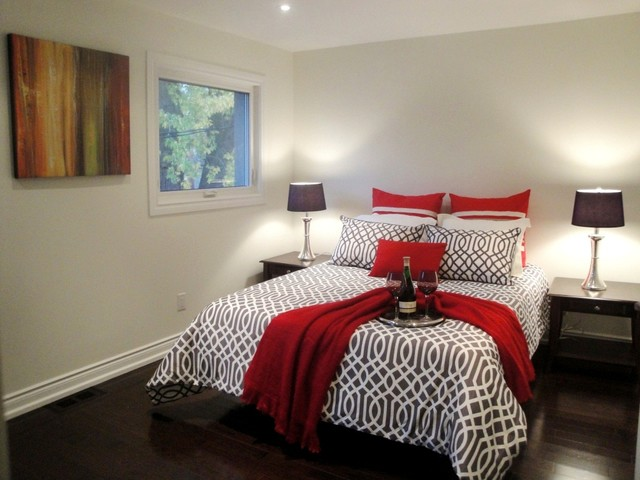 Toronto downtown home contemporary bedroom other for Interior designs by rhonda