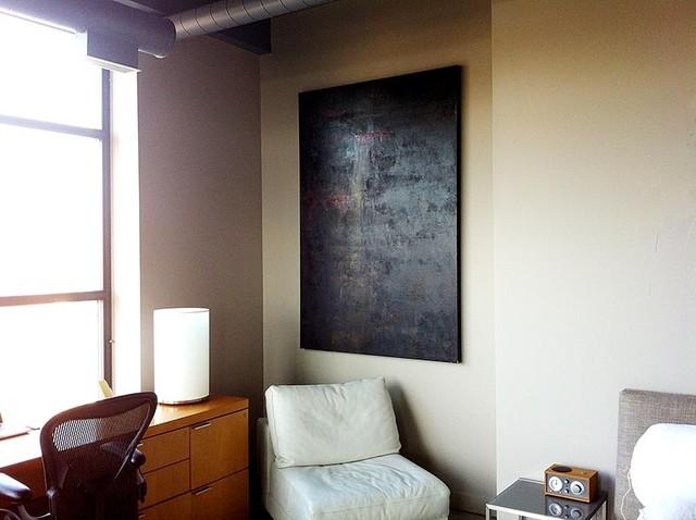 Toronto Penthouse  Loft Space modern-bedroom
