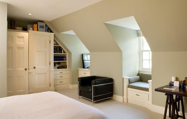 loft extension storage ideas - Toronto Restoration Traditional Bedroom other metro