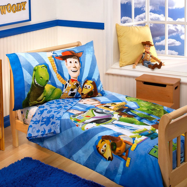 Toy Story Bedding And Room Decorations Modern Bedroom