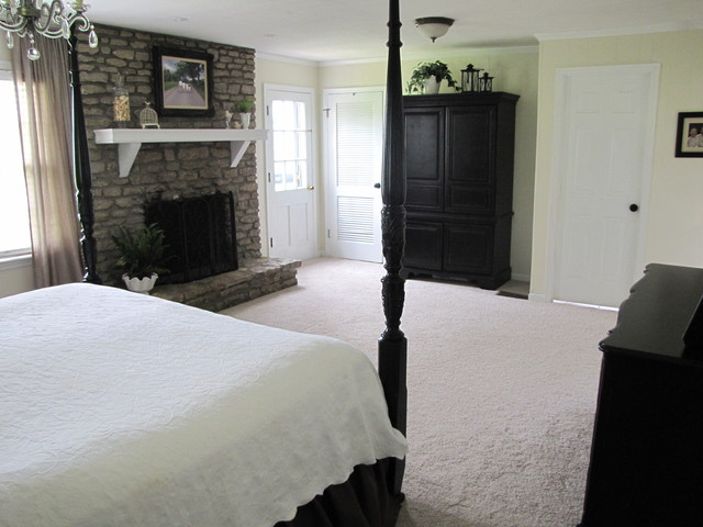 Traci traditional bedroom