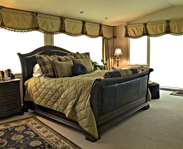 traditional bedroom by Beverly Bradshaw Interiors