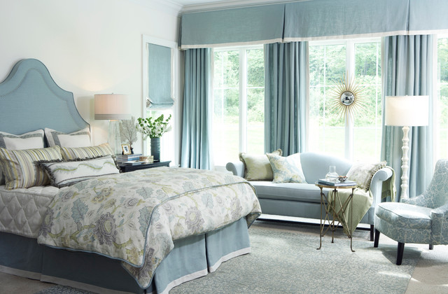 Heirloom Fabric Collection traditional-bedroom