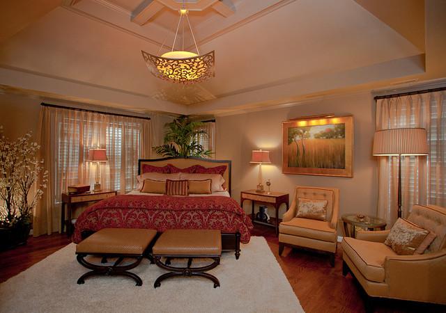 Stunning master bedroom traditional bedroom other for Stunning master bedrooms