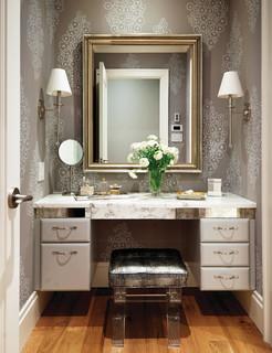Vanity In Bedroom - Interior Design