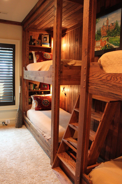 Bunk Bed traditional-bedroom