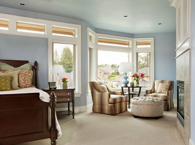 Basic Sophisticated Hues Traditional Bedroom