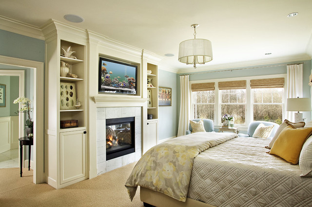 Master Bedroom - traditional - bedroom - portland - by Garrison ...