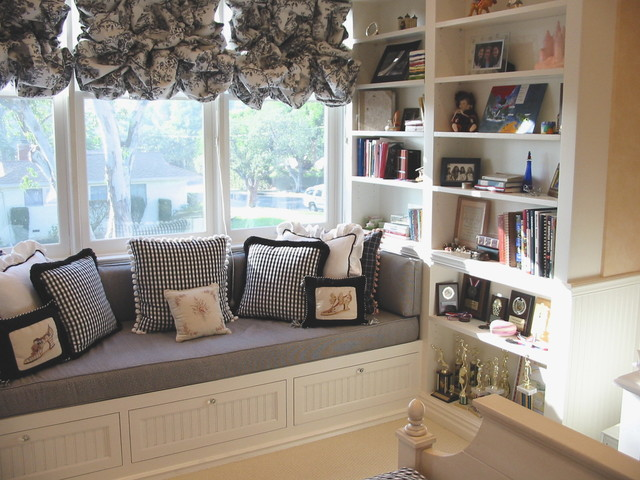 Image Result For Window Seat With Bookshelves