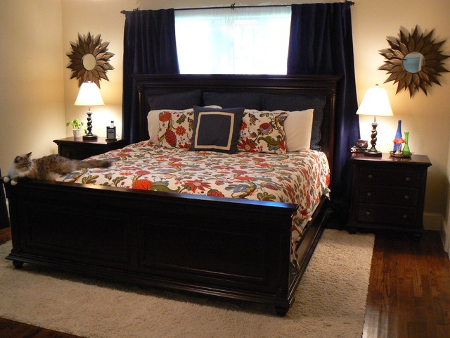 It's Great To Be Home - Cozy Master Bedroom traditional-bedroom