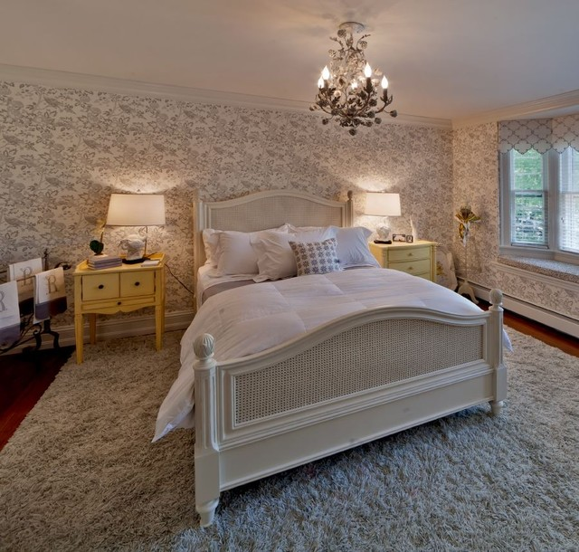 traditional bedroom by Kim E Courtney Interiors & Design Inc