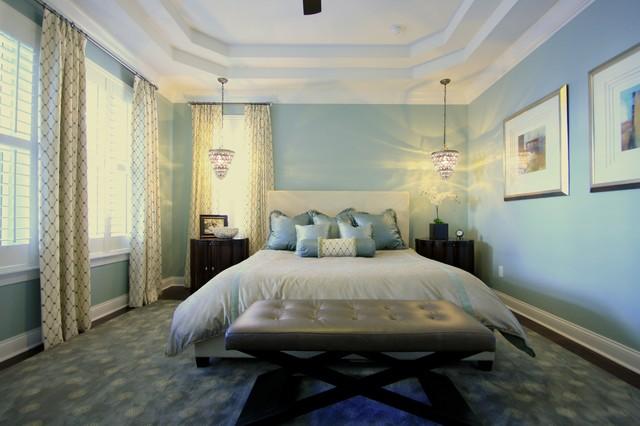 Baldwin Three traditional-bedroom