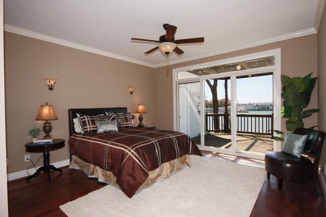 Waterfront Townhome - Sold in 30 Days! traditional bedroom