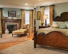 Colorful Master Bedroom Designs. Beautiful Bedding traditional-bedroom