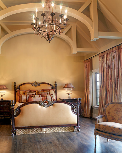 French Country Interior traditional bedroom