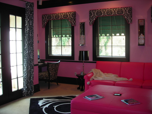 Teenage girls bonus room - traditional - bedroom - portland - by ...