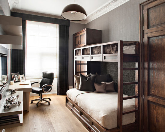 Double deck bedroom design ideas pictures remodel and decor for Bedroom designs with double deck