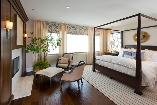 Master Bedroom - traditional - bedroom - san diego - by Robeson Design