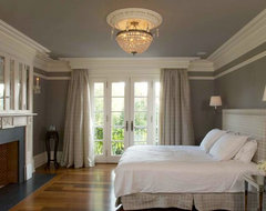 English Country House in Mid-Country Greenwich traditional-bedroom