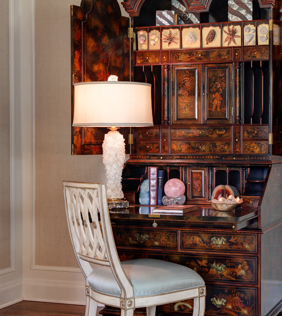 Traditional Glamour eclectic-bedroom